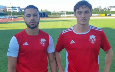 Deux nouveaux joueurs au FC Bulle