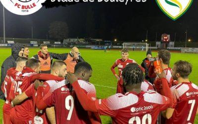 Le FC Bulle accueille Echallens